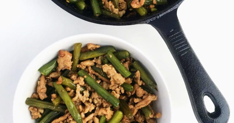 Asian Chicken and Green Bean Stir-Fry
