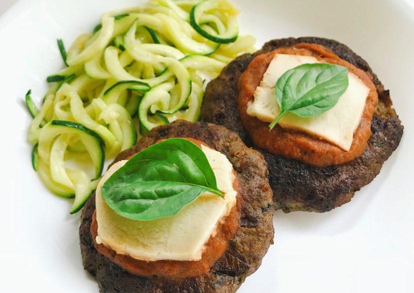 Italian-Style Turkey Burgers