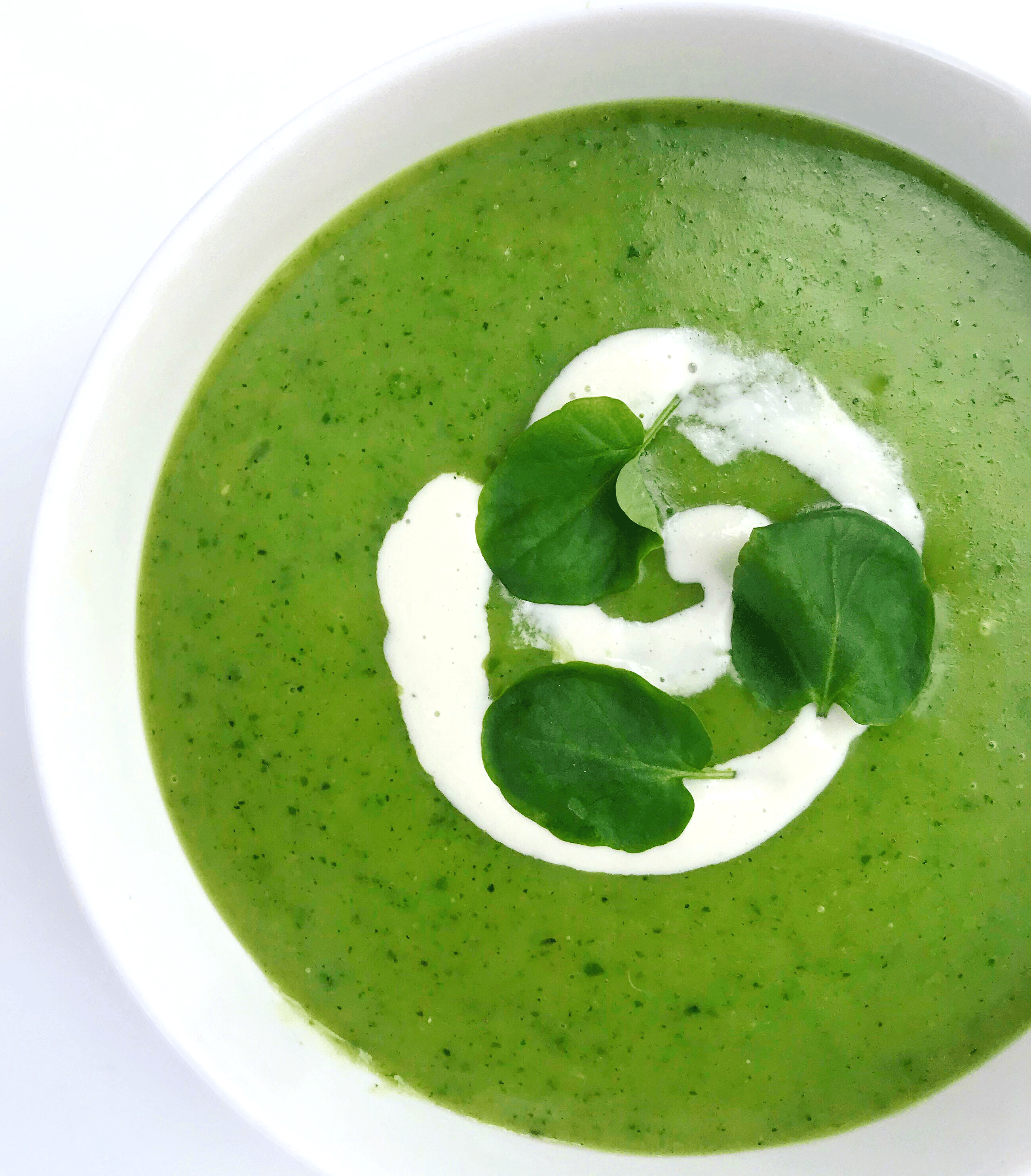 Zucchini Watercress Soup