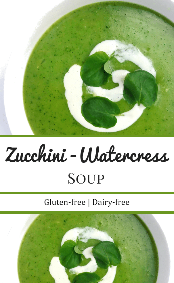 Zucchini-Watercress Soup