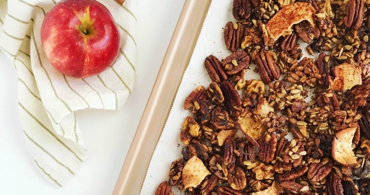 Grain-Free Cinnamon Apple Granola